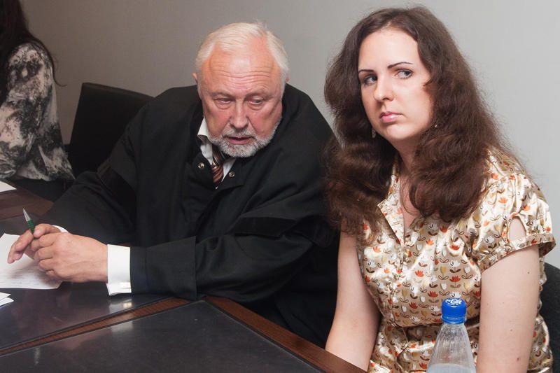 E.Kusaitė neprisipažįsta grasinusi prokurorui J.Lauciui
