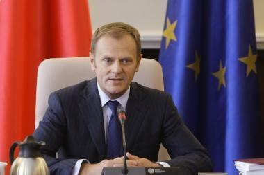 Lenkijos premjeras pagyrė vadovų kreipimąsi į B.Obamą