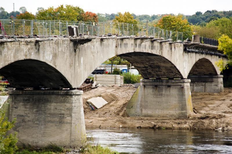 Panemunės tiltas skaičiuoja paskutines dienas