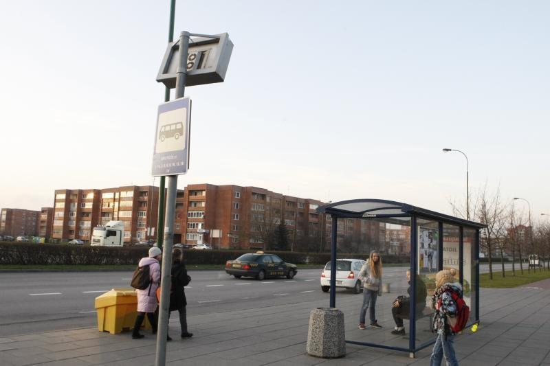 Kovą išaugo miesto autobusų keleivių skaičius
