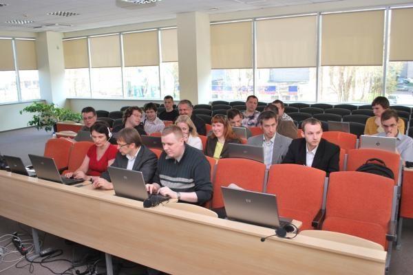 IT ekspertų klubo dalyvių praktika įvyko