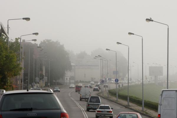 Sekmadienio rytą keliuose prognozuojamas rūkas