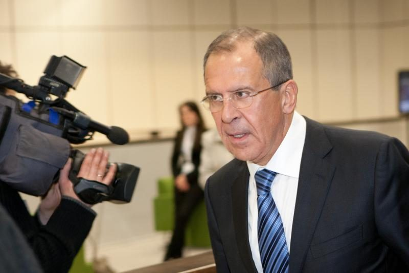 S.Lavrovas: Rusija nori susipažinti su Arabų Lygos pranešimu
