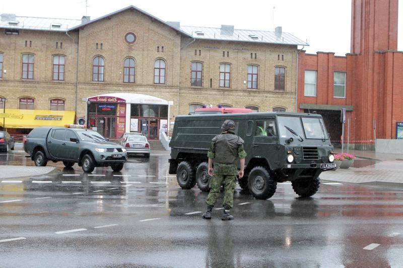 Prie Klaipėdos geležinkelio stoties rasta bomba (papildyta)