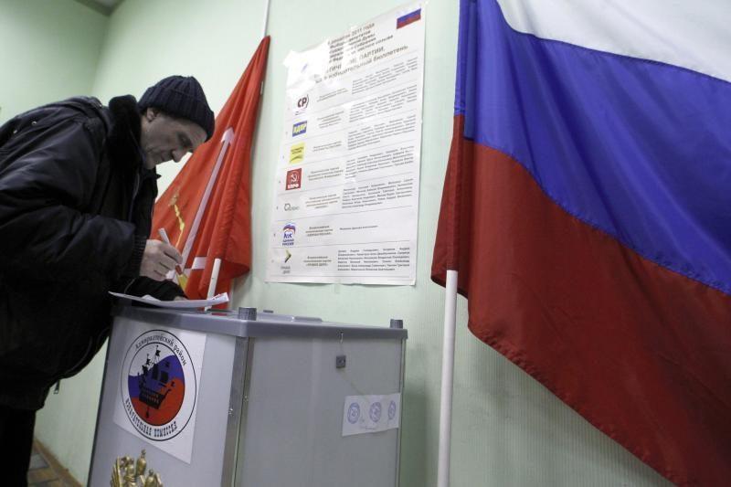 Rusijos prezidento rinkimų biuletenyje bus penkių kandidatų pavardės
