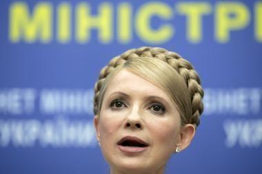 J.Tymošenko pareikalavo skubiai perrinkti visas Ukrainos valdžios institucijas