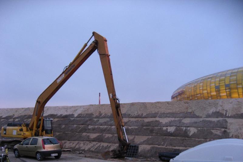"""""""Euro 2012"""" – stadionas laivų statybvietėje (specialiai iš Lenkijos)"""