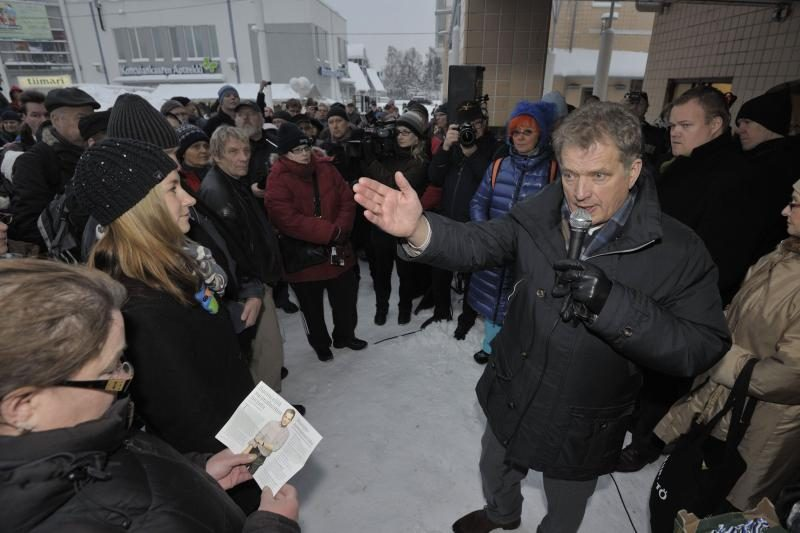 Suomijoje renkamas naujasis prezidentas