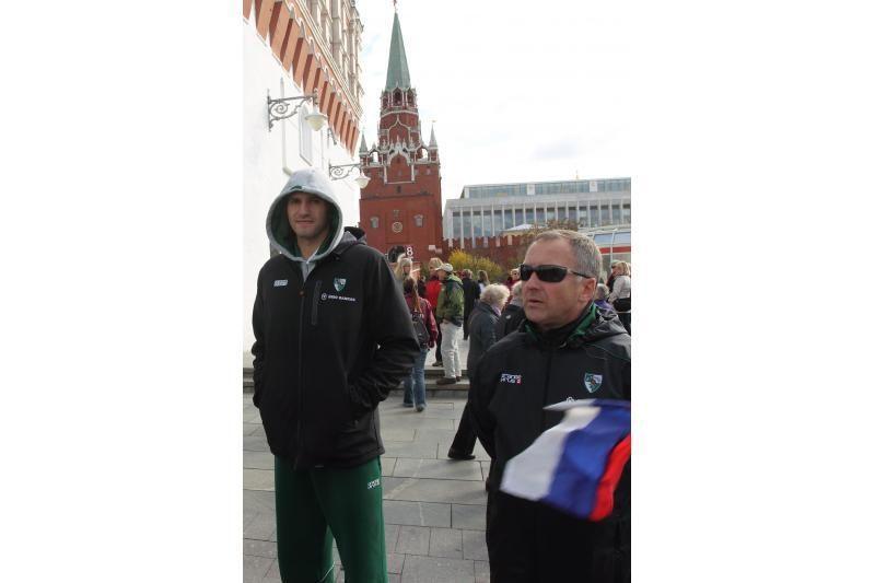 """Kauno """"Žalgirio"""" krepšininkai apžiūrėjo Maskvą"""