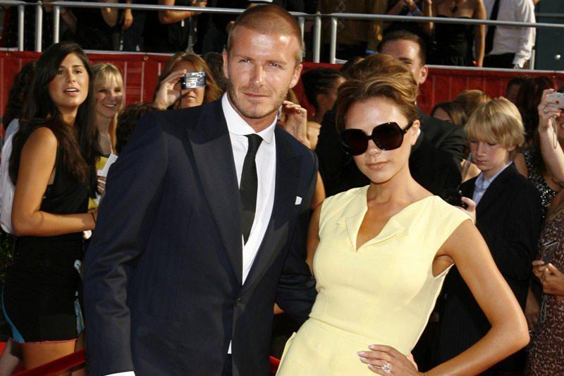 Beckhamai kreipėsi dėl paso mažajai Harper