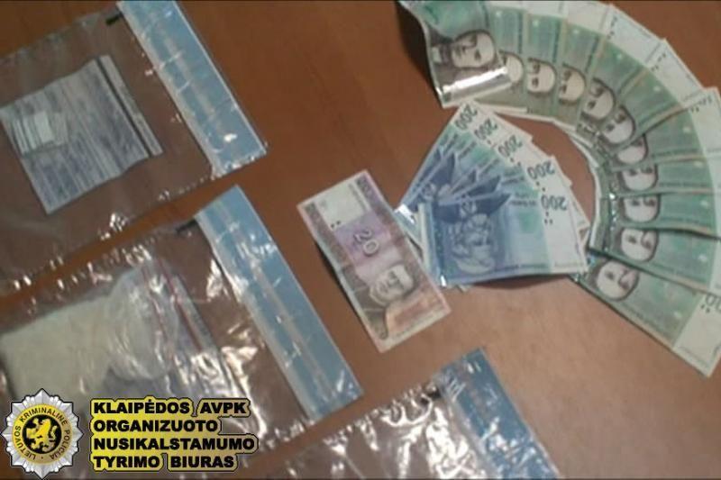 Uostamiesčio gyventojai padėjo likviduoti narkotikų platinimo tinklą