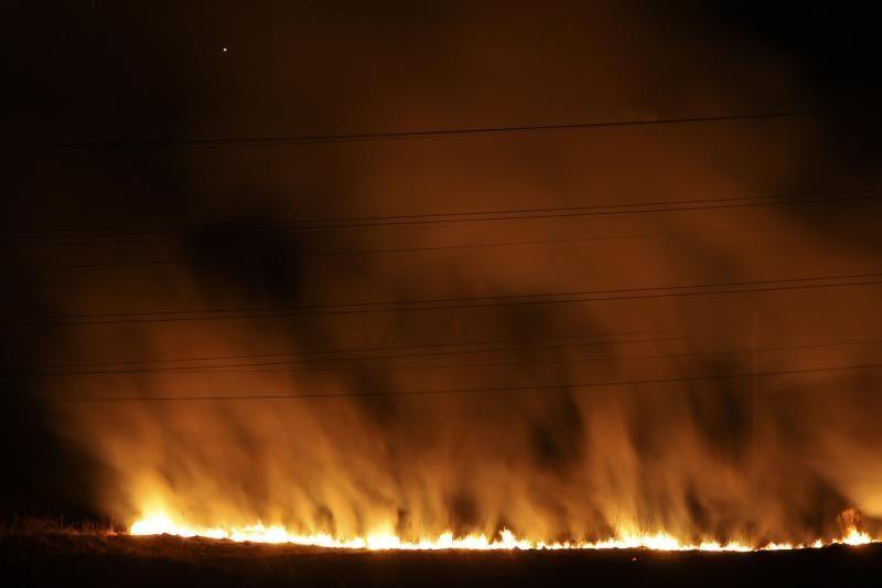 Parduotuvėje Vilniuje kilo gaisras, užsidegė lubos