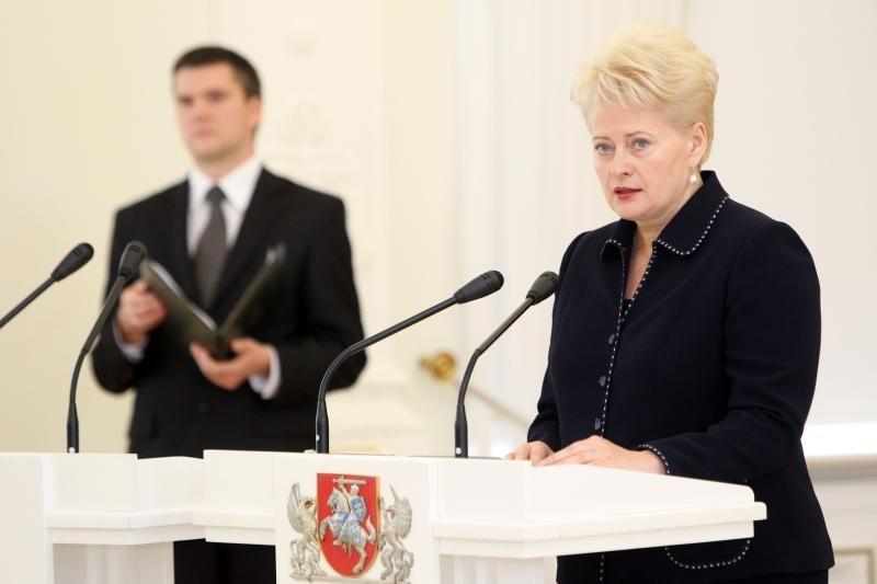 D.Grybauskaitė: JAV - svarbiausia partnerė saugumo srityje