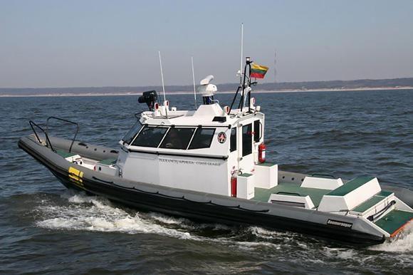 Ant seklumos vėl užplaukė pramogautojų kateris