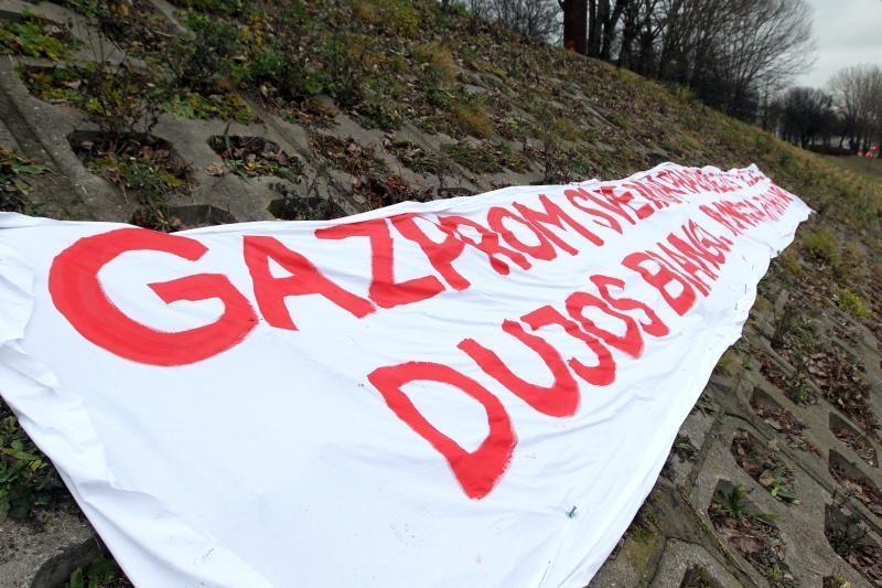 """""""Gazprom"""" pareiškė, kad EK tyrimą išprovokavo Lietuva"""