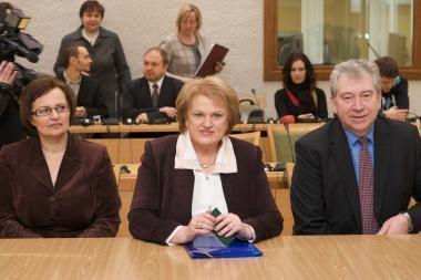 Komisija vertins kandidatų į Prezidentus kalbos grynumą