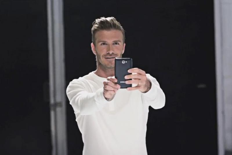 Naujoje reklamoje D.Beckhamas pademonstravo muzikinius sugebėjimus