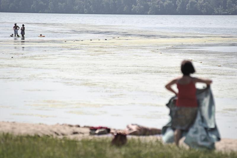 Karščio atakos gena kauniečius į paplūdimius