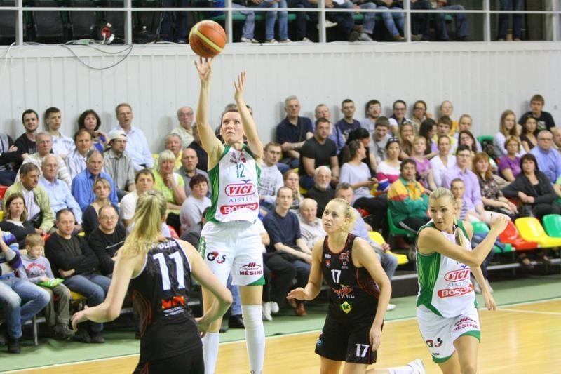 Lietuvos moterų krepšinio auksas ir bronza – kaunietėms