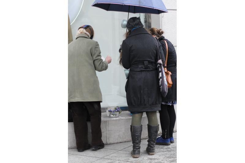 Pirmosios žibutės pasiekė Vilniaus gatves