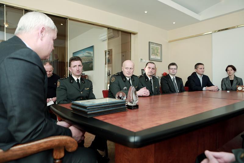 Muitininkams – Klaipėdos mero ir darbdavių asociacijos padėkos