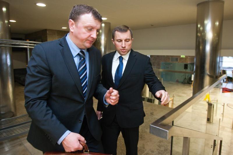 Prokurorai dar neapklausė iš FNTT atleisto V.Giržado