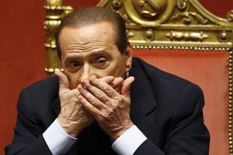 Berlusconi: itališko meilės romano pabaiga
