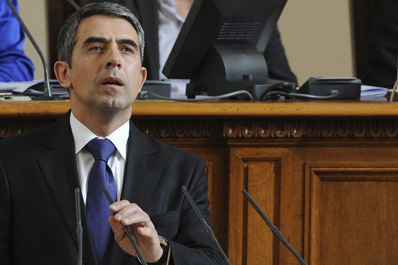 Prisaikdintas naujasis Bulgarijos prezidentas