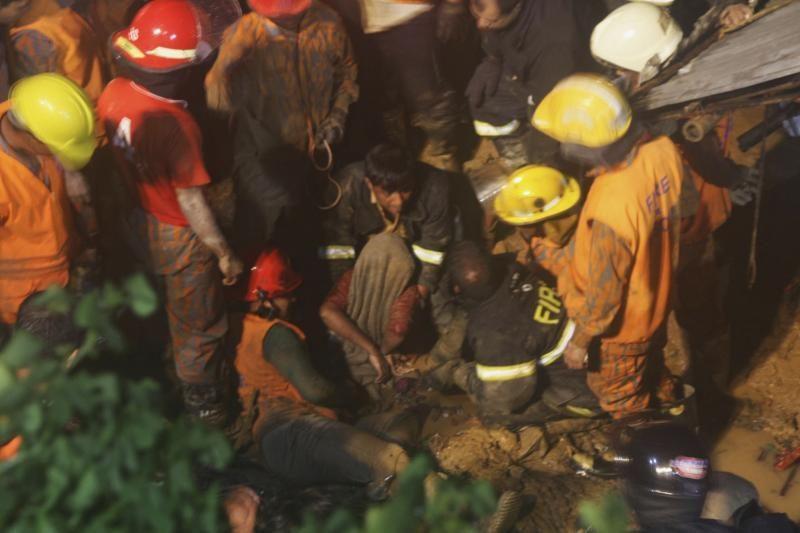 Bangladeše dėl liūčių ir nuošliaužų žuvo 51 žmogus