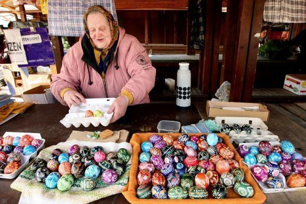 Kalvarijų turguje – kiaušinių pirkimo karštinė