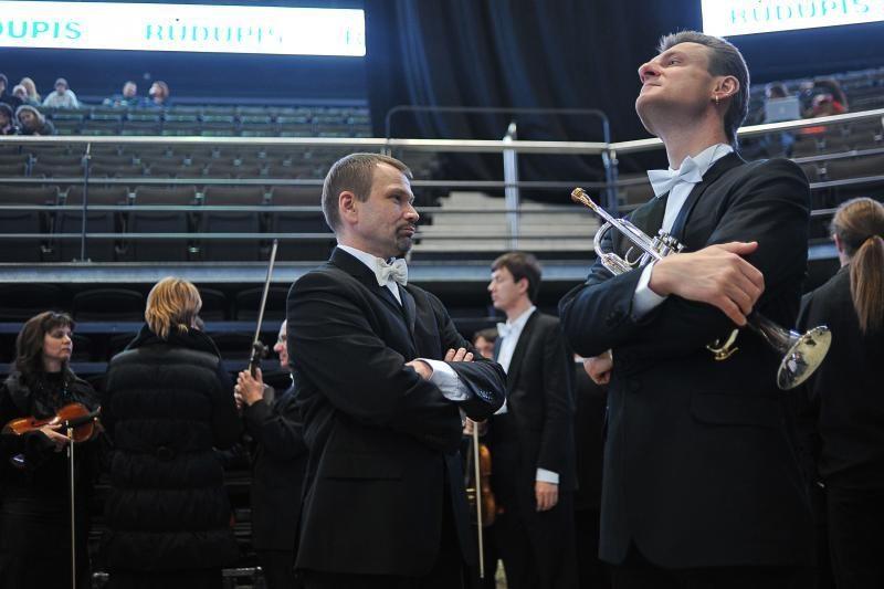 """Provokacija prie """"Žalgirio"""" arenos prieš V.Gergijevo koncertą nepavyko"""