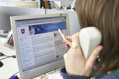 Gyventojai nori mokytis naudotis elektroninėmis paslaugomis