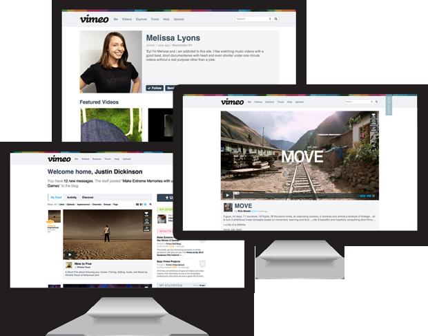 """Iš ėsmės atnaujintas """"YouTube"""" konkurento """"Vimeo"""" dizainas"""