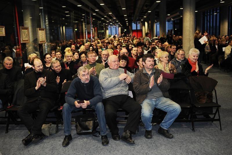 Kaune įvyko Lietuvos žmonių partijos steigiamasis suvažiavimas