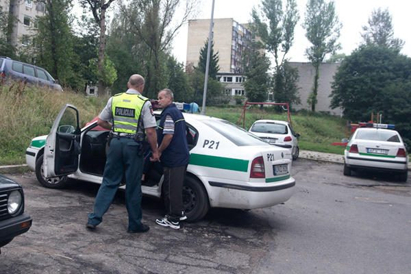 Vilniuje nužudytas tuščius butelius rinkęs vyriškis