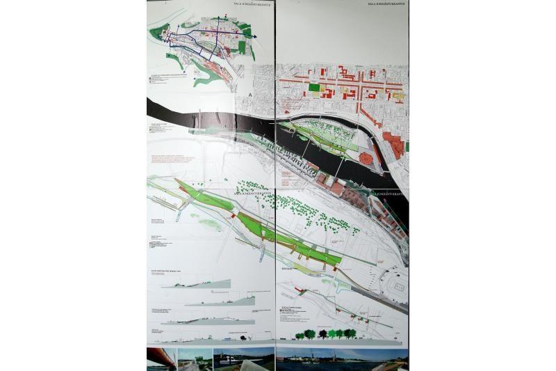 Architektų vizijose Nemuno sala – su uostais ir paplūdimiu
