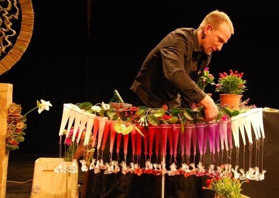 Kauniečiams – žymių pasaulio floristų meistriškumo pamoka