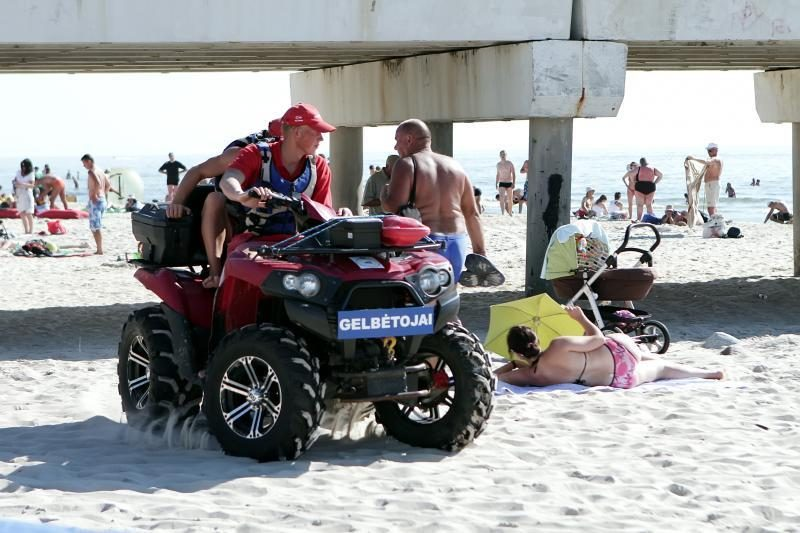 Nidos pliaže žmona pasigedo vyro
