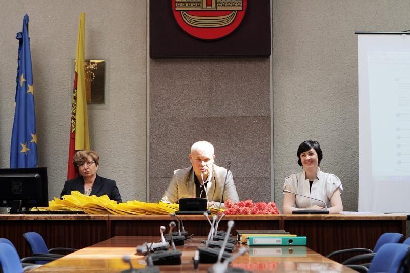 Klaipėdos seniūnaičiai rinkosi į pirmąją sueigą