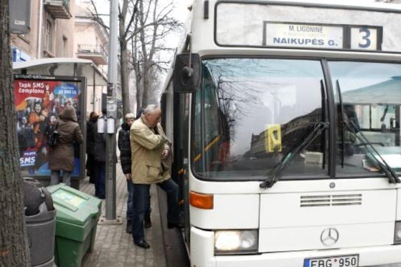 Kompensacijoms už keleivių vežimą autobusais neužtenka pinigų