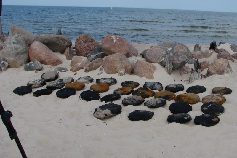 Šventosios pliaže rado trotilo