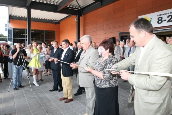 Rekonstruota Klaipėdos autobusų stotis jau atidaryta