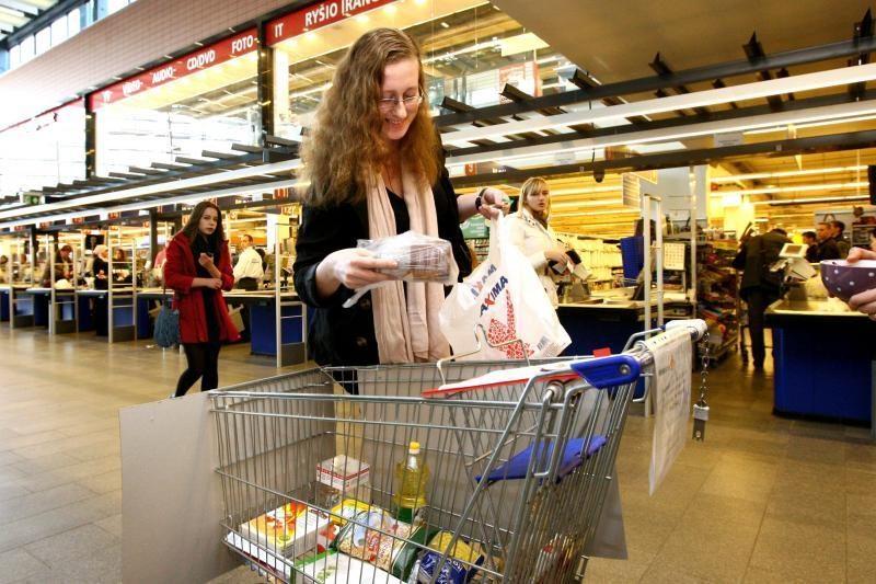 Maistą nepasiturintiesiems dovanoja ir studentai