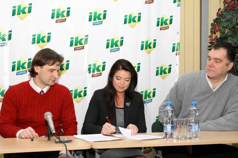 Bendradarbiaus IKI ir A.Sabonio krepšinio centras