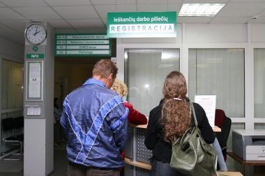 Klaipėdos apskrityje pernai buvo 13 tūkst. bedarbių