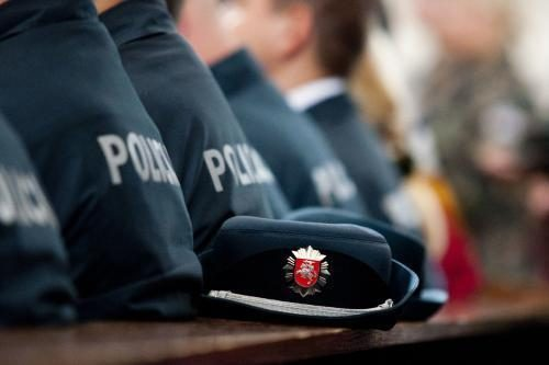Uostamiesčio policija pasitiki mažiau žmonių