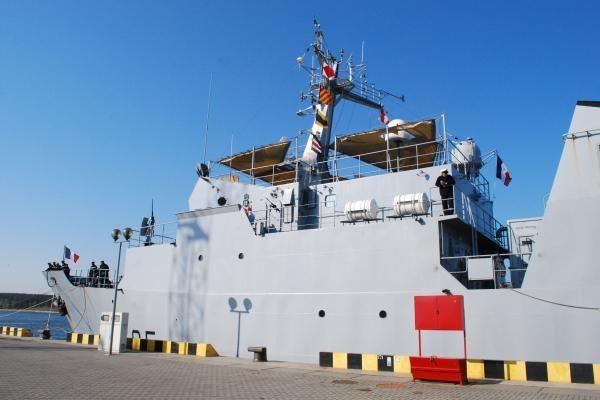 """Klaipėdoje - Prancūzijos karo laivas """"Thétis"""""""