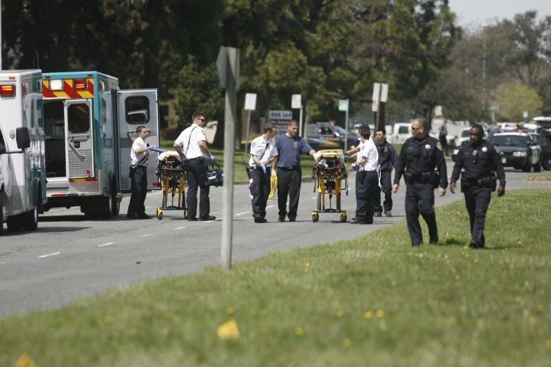 Kalifornijos koledže siautėjęs žudikas aukoms surengė egzekuciją