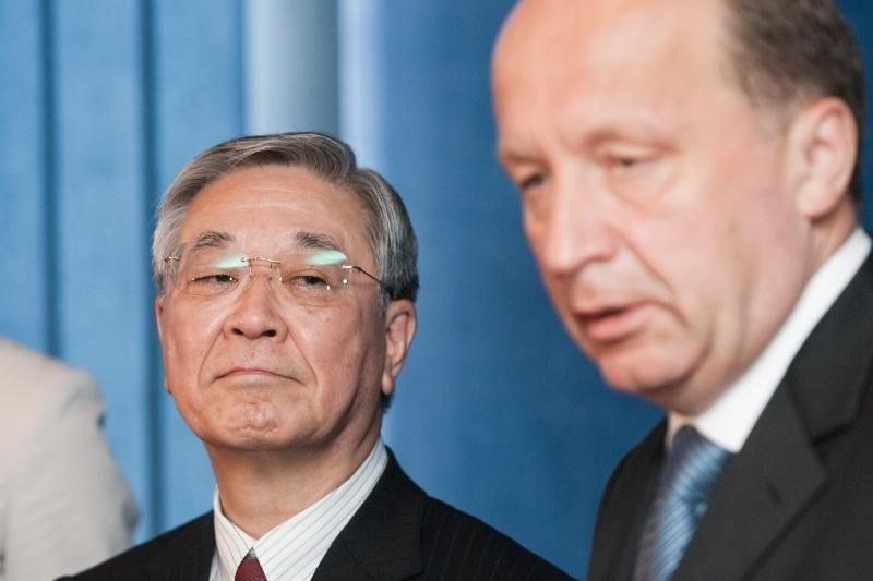 """A.Kubilius: artėjame prie susitarimo su """"Hitachi"""""""