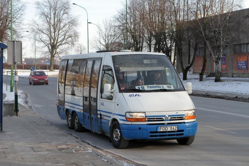 Mažieji autobusai Klaipėdoje važiuos ir kitą savaitgalį